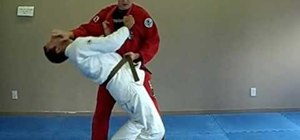 Do a Jiu Jitsu Obi Otoshi belt drop