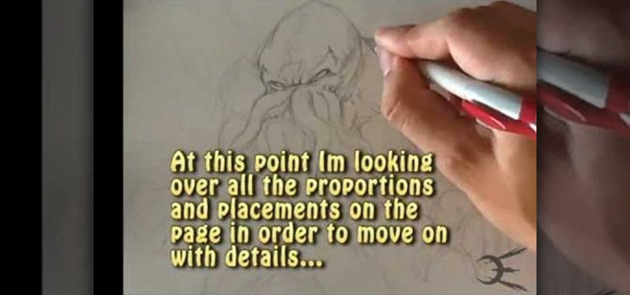 Draw Cthulhu