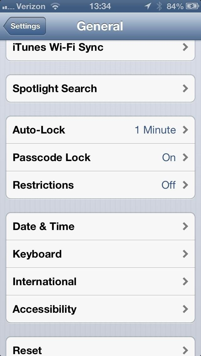 Your iPhone's Settings Menu Options - dummies