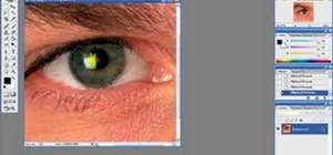 Digitally manipulate eye color in Adobe Photoshop