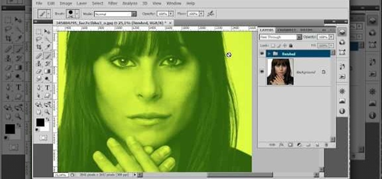 Design a Duotone Effect Photoshop Tutorial - YouTube