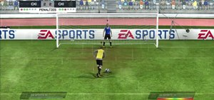 Use more advanced tactics in penalties in FIFA 11 on the Xbox 360