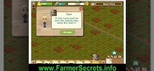 Cheat and level up quickly on Farmville