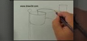 Draw 3D wind flapping flags
