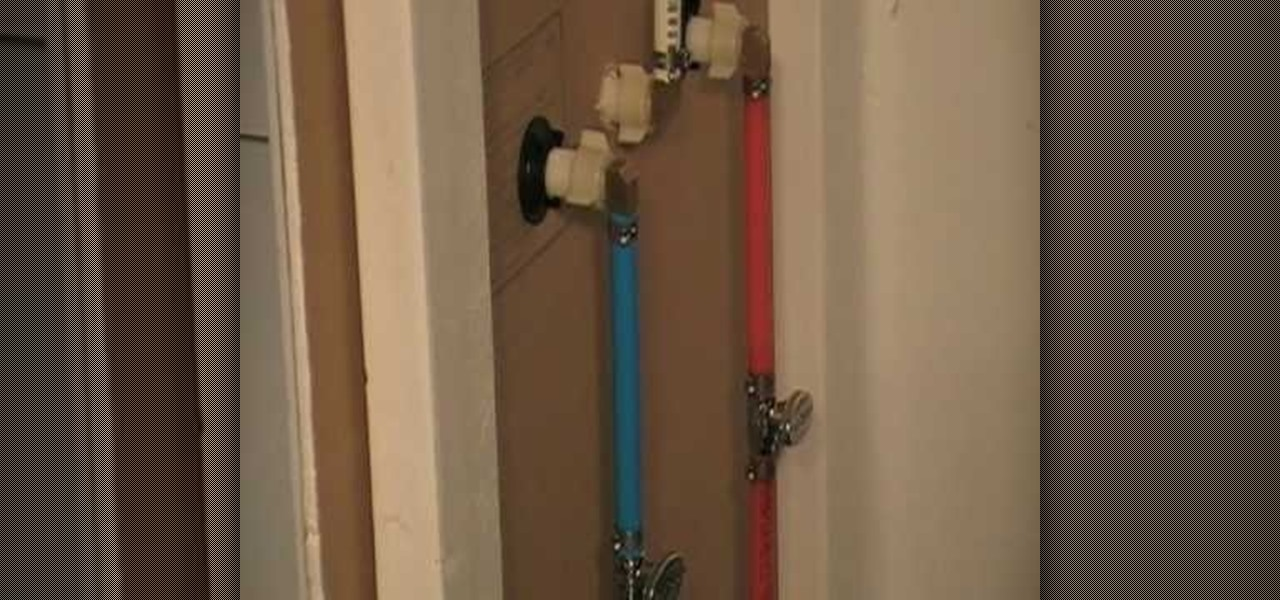 How to repair a leak behind the bathroom tub wall plumbing electric wonderhowto - Picture of bathroom ...