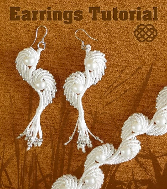Angel Wings - Macrame Earrings Tutorial