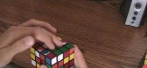 Solve a 4x4 Rubik's Cube