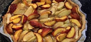 Make a delicious apple nectarine pie for summer