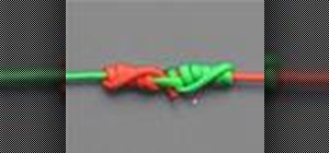 Tie the blood knot with a knot tying animation