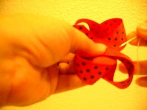 Make a boutique style bow