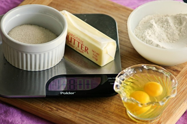 Making A Cake By Weighing The Eggs
