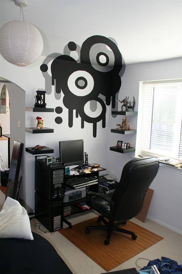 Trippy DIY Wall Art Project by Loki