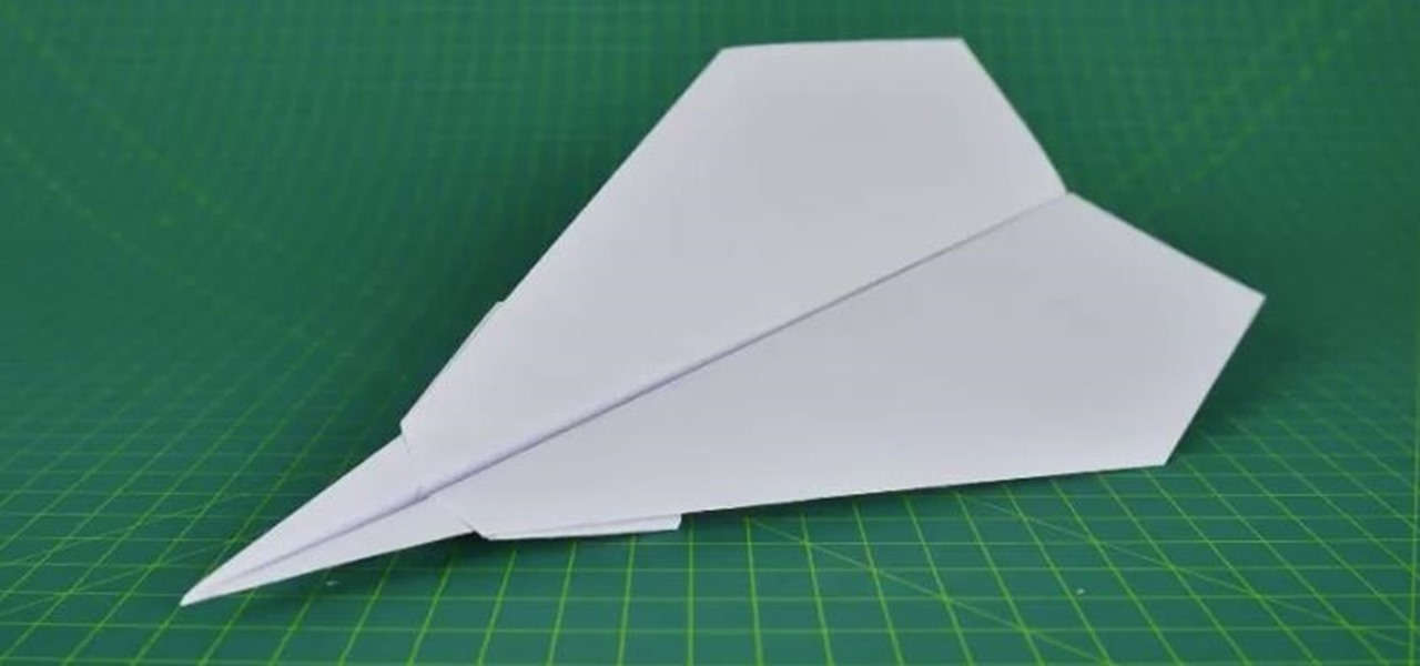 Fold a Flyable Paper Plane