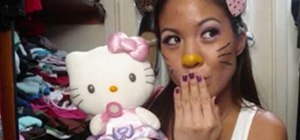 Make a Hello Kitty Halloween Costume