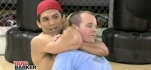 Apply a mixed martial arts choke with Frank Shamrock