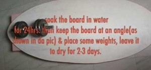 Make a skimboard