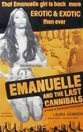 emanuelle and the last cannibals 171 movie poster design