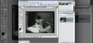 Color a black and white photo in Photoshop