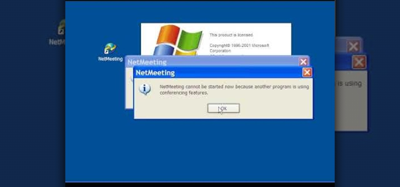 start netmeeting windows xp The first major overhaul to the start menu was introduced in windows xp and was later included in windows server 2003 the start menu was expanded to two columns:.