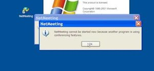 Configure Windows Netmeeting