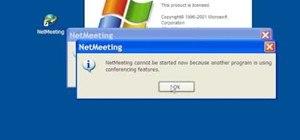 Configure Windows Netmeeting