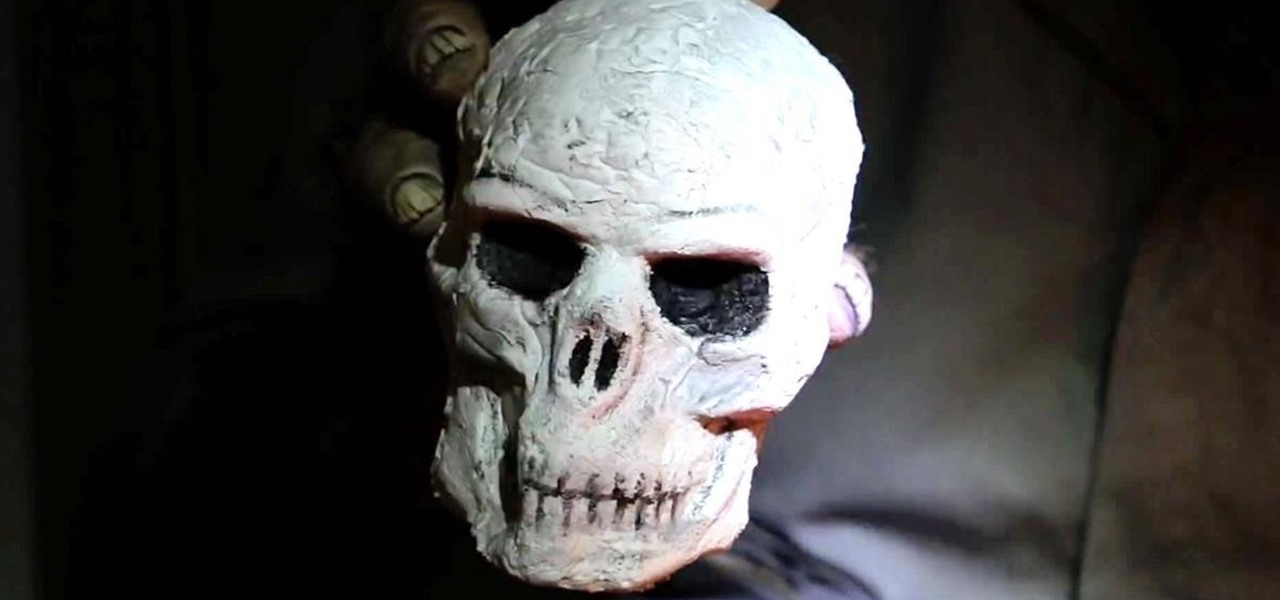 Make a Cheap & Easy Prop Skull