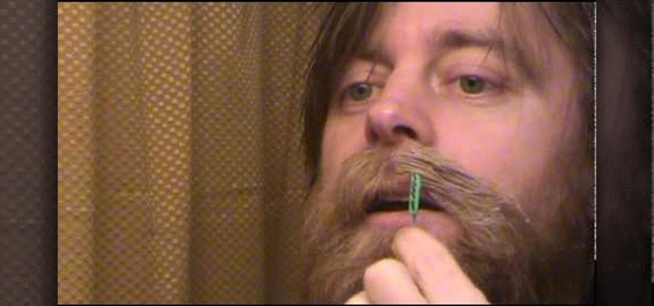 How to Wax a handlebar mustache step by step « Hairstyling ...