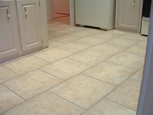 How about laminate tile that resembles ceramic tile?