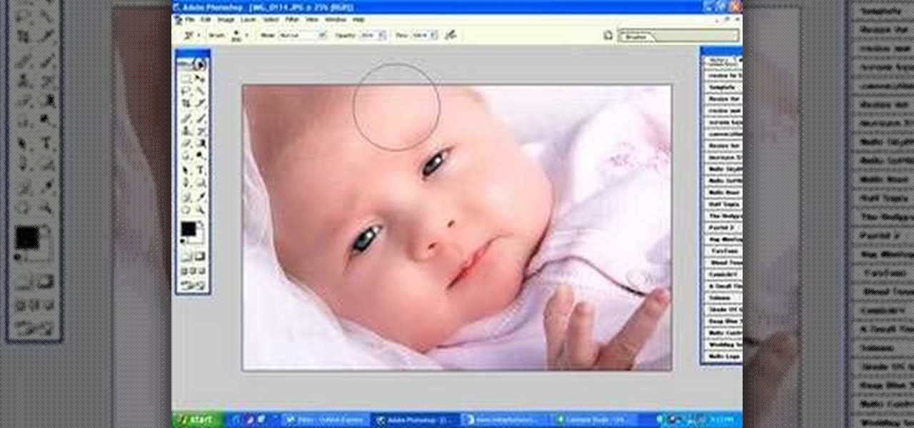 How to retouch a baby portrait in photoshop photoshop wonderhowto