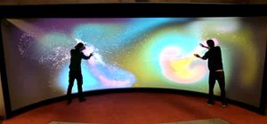 World's Largest Touchscreen Hacked Together with Ordinary Hardware