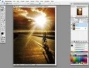 Create a snapshot effect in an image using Photoshop