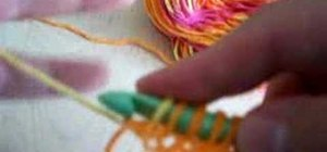 Do Tunisian crochet cast on