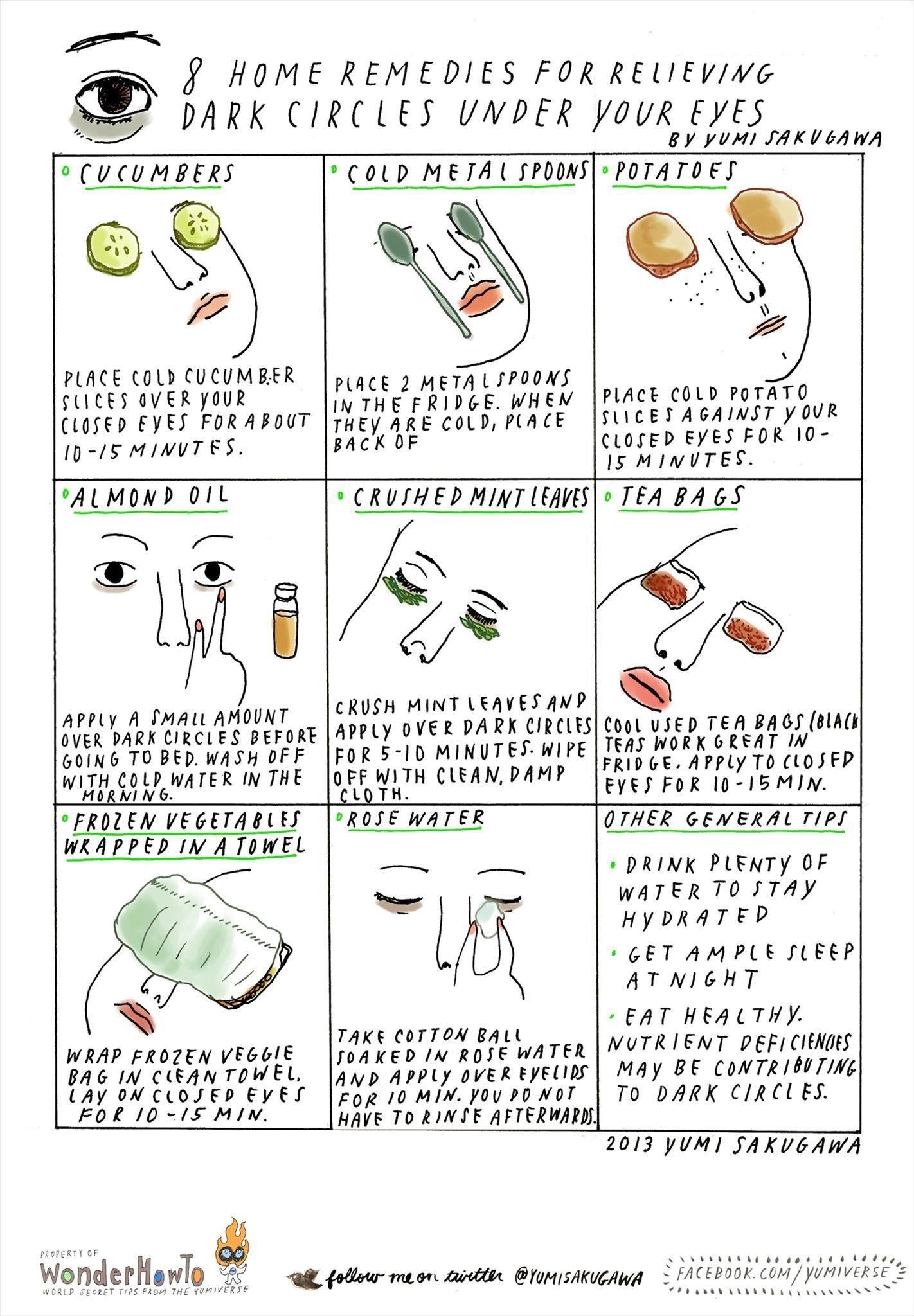 8 Home Remedies That 39 Ll Get Rid Of Those Dark Circles