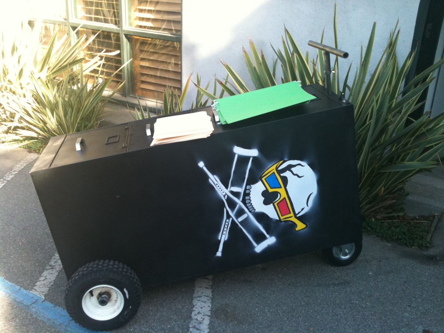 Special Delivery Mod: Dude Submits 25 MPH Motorized File Cabinet