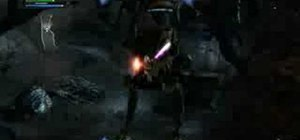Make an awesome lightsaber in SW The Force Unleashed