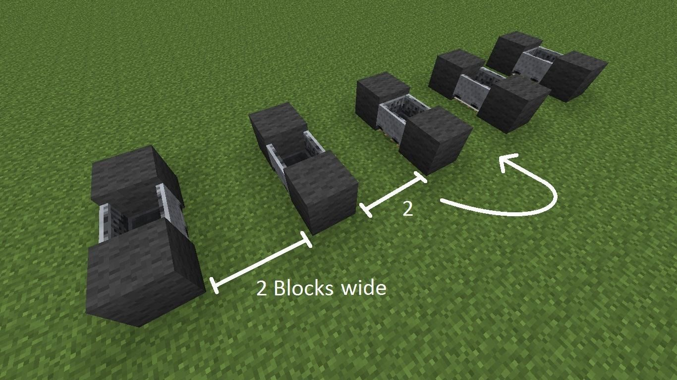 How To Create The Fastest Most Efficient Way Of Travel 50 Blocks A Second Minecraft