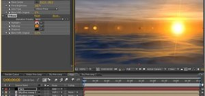 Create an ocean scene in After Effects CS5 without third-party plug-ins