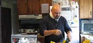 Make buttercup squash