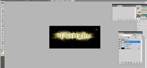 Create a Twilight text effect in Photoshop CS4
