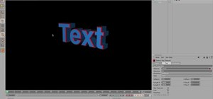Animate 3D text from Cinema 4D in Adobe After Effects