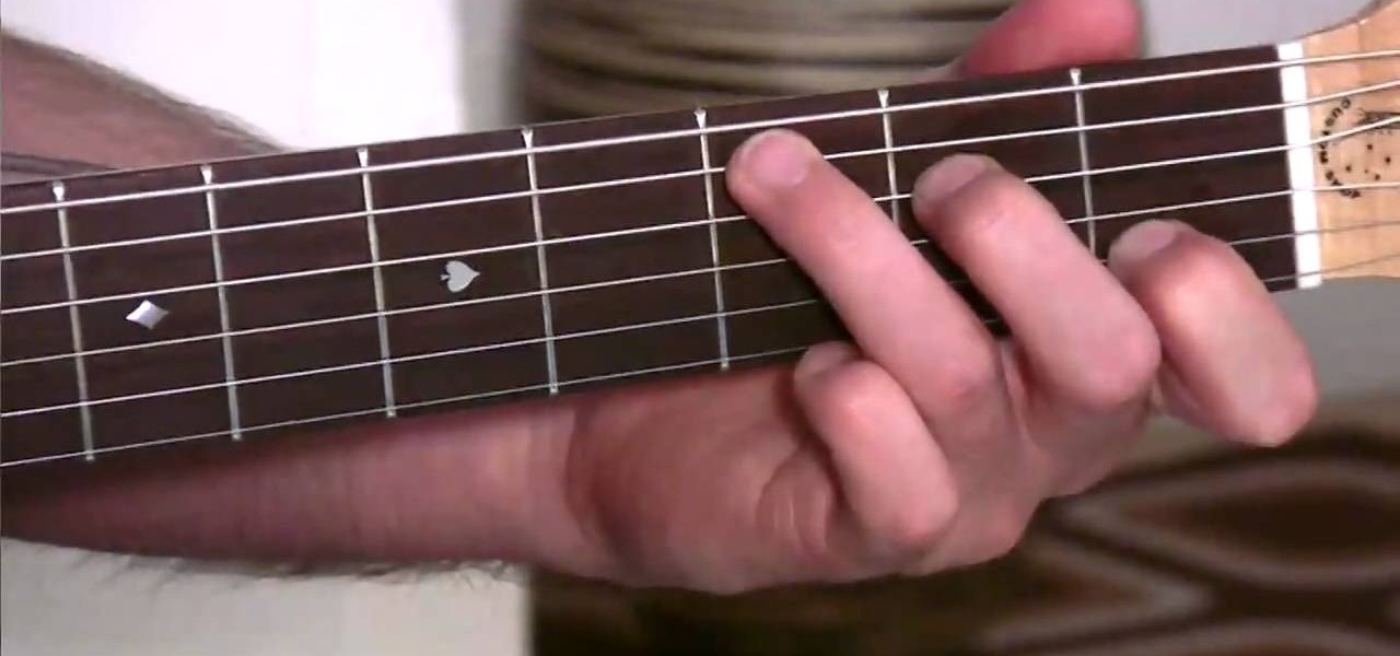 How To Play Easy Slash Chords On An Acoustic Guitar Acoustic