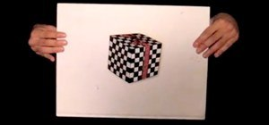 The Magical Cube Illusion. Wait For It, Wait For It...