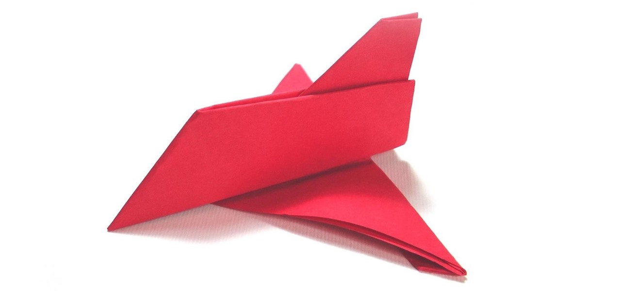 Make an Easy Paper Airplane