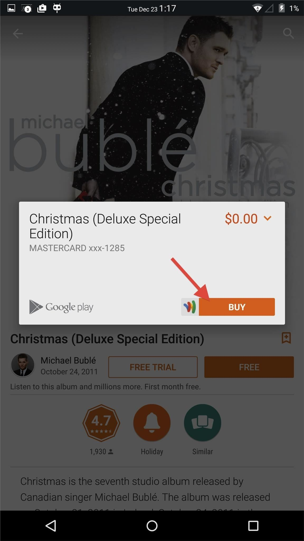 Holiday Freebie: Michael Bublé's Christmas Deluxe Special Edition Album