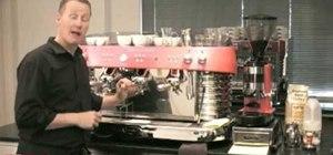 Make a professional latte