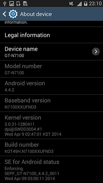 Android 4.4.2 KitKat Is Finally Here for the Samsung Galaxy Note 2