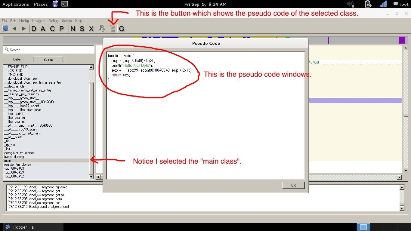 How to reverse engineer C code?