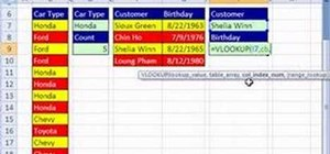 Use Excel names with pivot tables & data validation