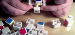 Disassemble and reassemble a Rubik's Cube