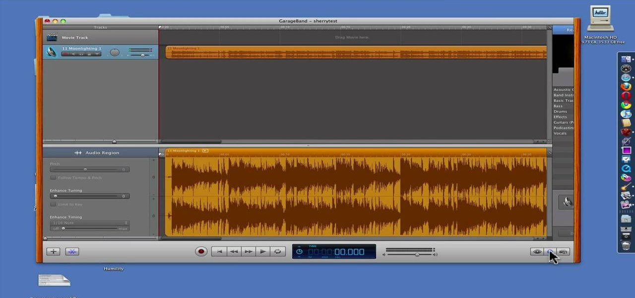 Use GarageBand to Reduce the Vocals in a Song